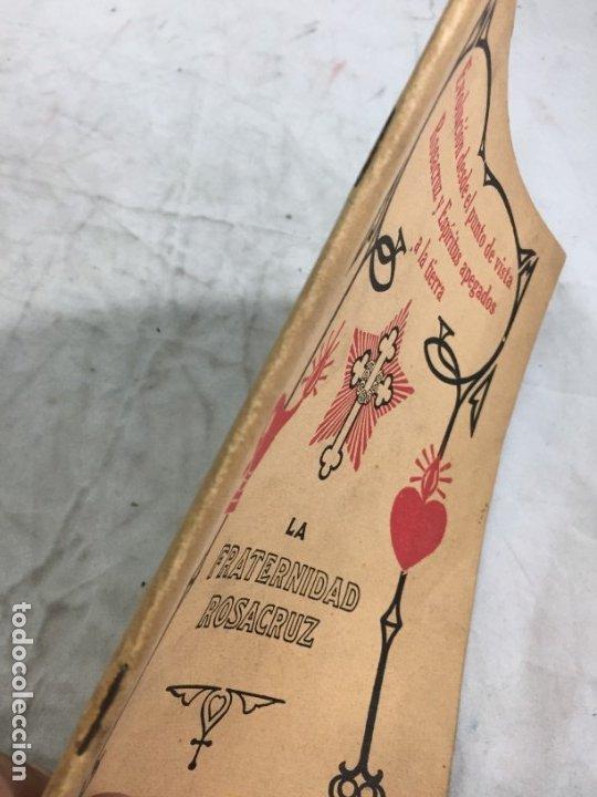 Libros antiguos: Evolucion desde el punto de vista rosacruz y Espiritus apegados a la tierra 1931 Barcelona - Foto 2 - 176605038