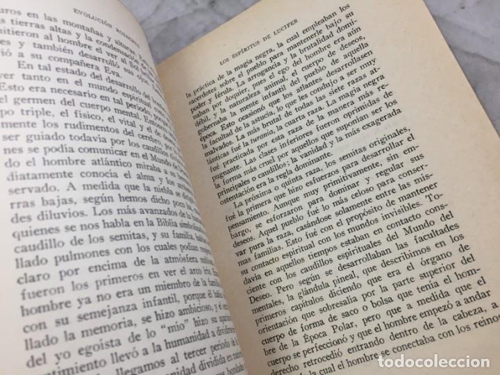 Libros antiguos: Evolucion desde el punto de vista rosacruz y Espiritus apegados a la tierra 1931 Barcelona - Foto 5 - 176605038