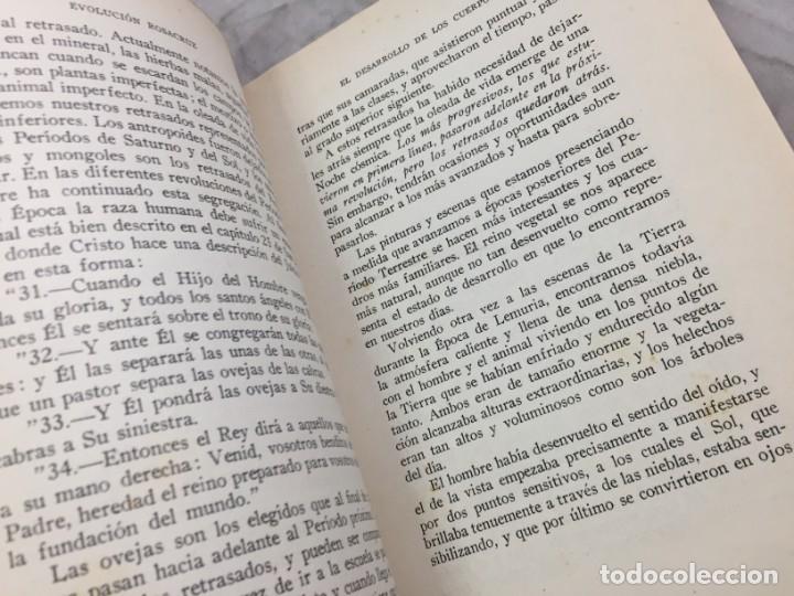 Libros antiguos: Evolucion desde el punto de vista rosacruz y Espiritus apegados a la tierra 1931 Barcelona - Foto 6 - 176605038