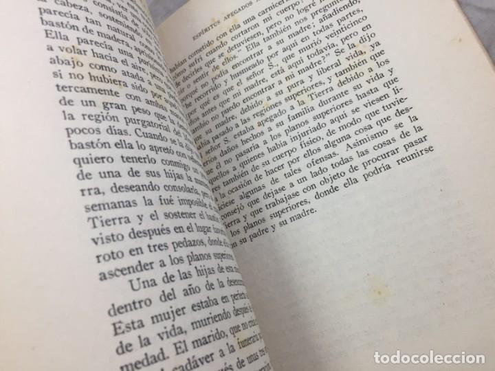 Libros antiguos: Evolucion desde el punto de vista rosacruz y Espiritus apegados a la tierra 1931 Barcelona - Foto 7 - 176605038