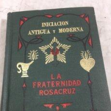 Libros antiguos: INICIACIÓN ANTIGUA Y MODERNA MAX HIENDEL EDITORIAL KIER 1968. Lote 176816455