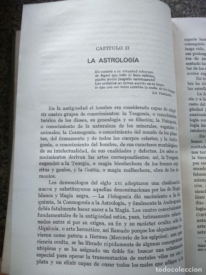 Libros antiguos: LOS FENOMENOS MISTERIOSOS DEL PSIQUISMO -- DOCTOR POODT -- MAGIA, HIPNOTISMO, ESPIRITISMO -- - Foto 3 - 177304563