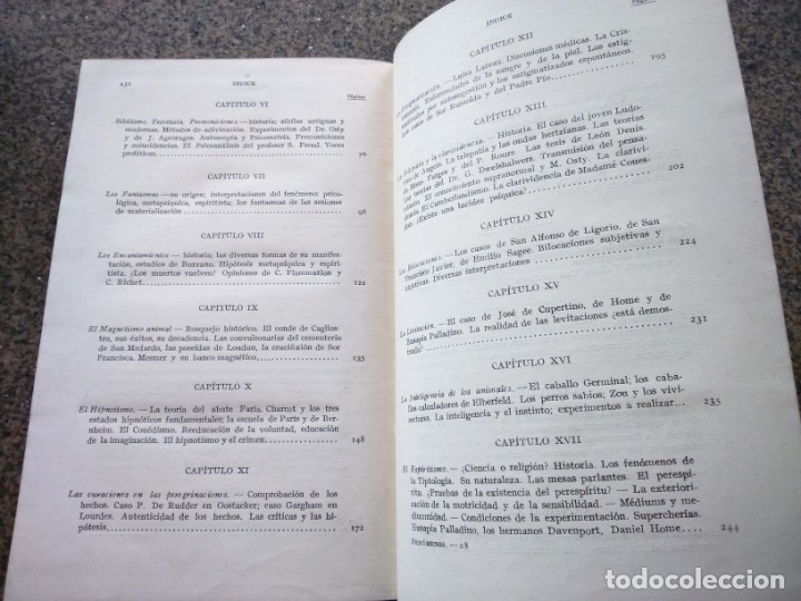 Libros antiguos: LOS FENOMENOS MISTERIOSOS DEL PSIQUISMO -- DOCTOR POODT -- MAGIA, HIPNOTISMO, ESPIRITISMO -- - Foto 4 - 177304563