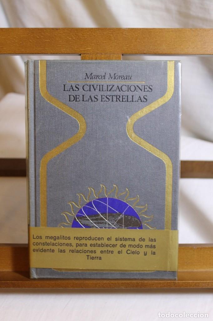 Libros antiguos: MARCEL MOREAU, LAS CIVILIZACIONES DE LAS ESTRELLAS, 1º EDICIÓN - Foto 2 - 177480992