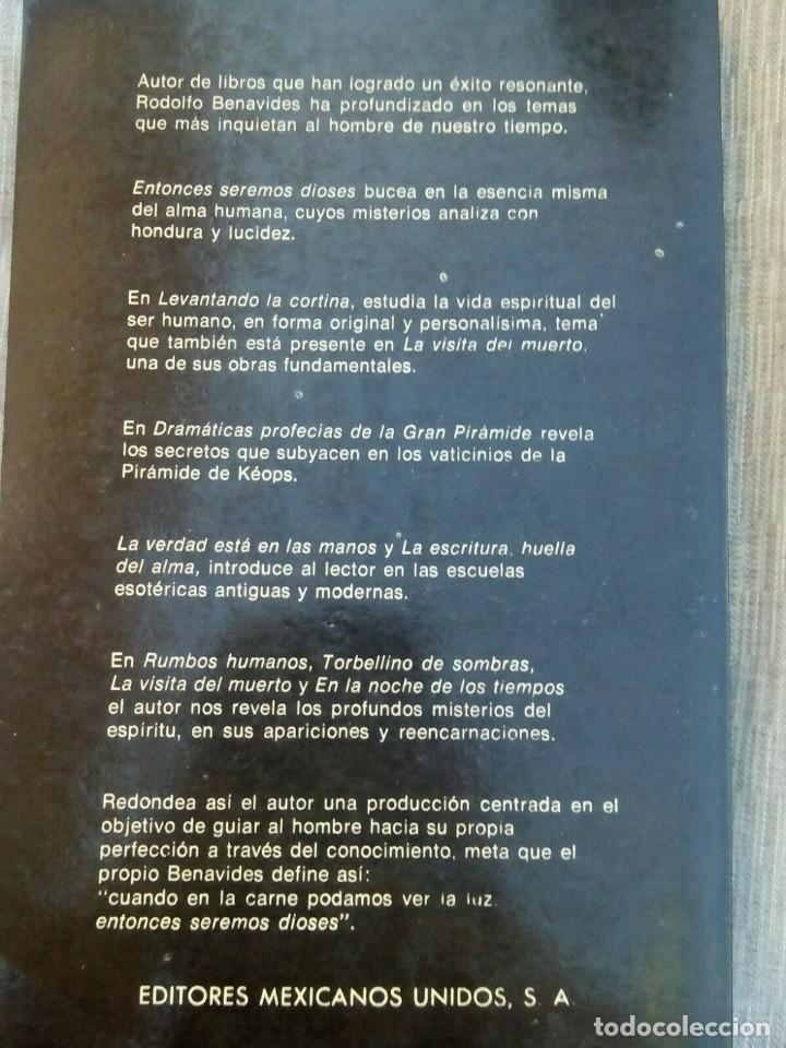 Libros antiguos: EL TAROT PROFETICO :Rodolfo Benavides -- descatalogado - Foto 2 - 177781698