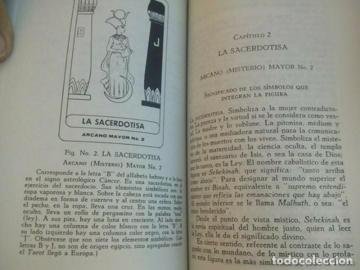 Libros antiguos: EL TAROT PROFETICO :Rodolfo Benavides -- descatalogado - Foto 3 - 177781698