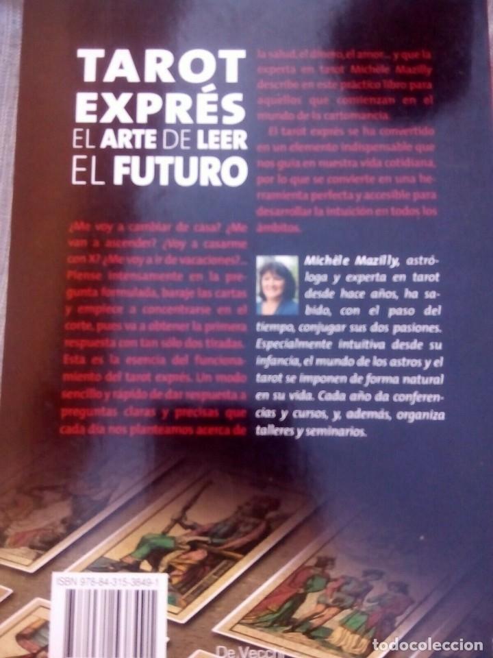 Libros antiguos: TAROT EXPRE EL ARTE DE LEER EL FUTURO, MICHELE MAZILLY, - Foto 2 - 177784662