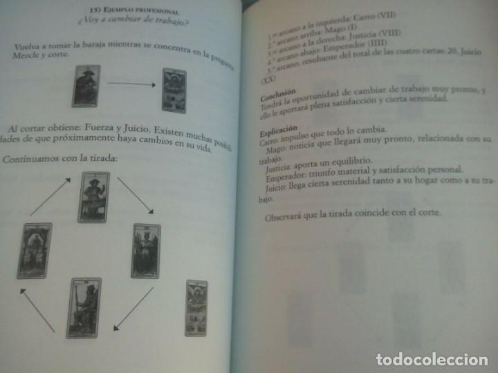 Libros antiguos: TAROT EXPRE EL ARTE DE LEER EL FUTURO, MICHELE MAZILLY, - Foto 3 - 177784662