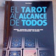 Libros antiguos: EL TAROT AL ALCANCE DE TODOS - HUGO MAYER - . Lote 177785970