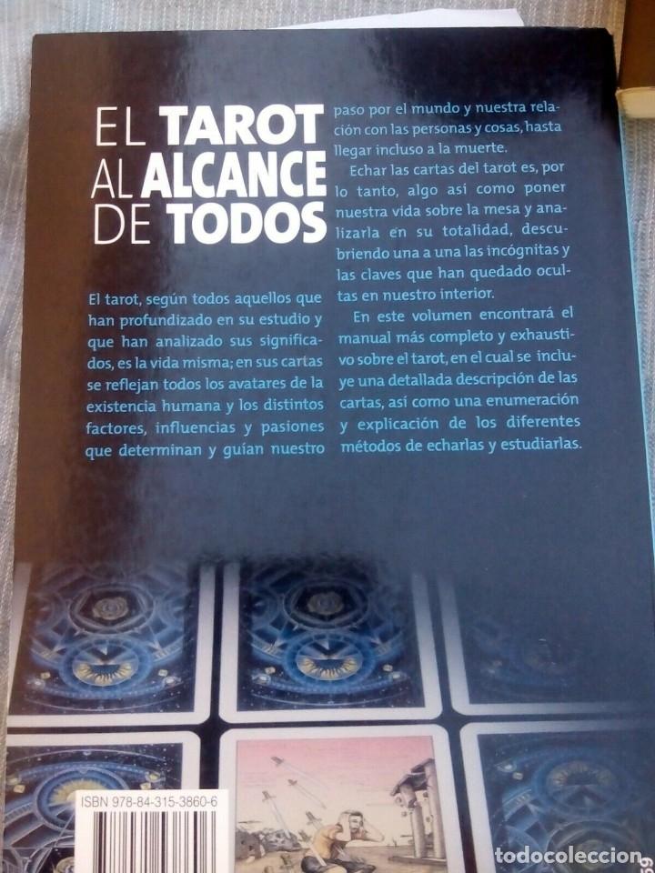 Libros antiguos: EL TAROT AL ALCANCE DE TODOS - HUGO MAYER - - Foto 2 - 177785970