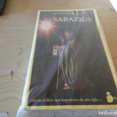 Libros antiguos: RARO Y BUSCADISIMO LIBRO DE ESPIRITUALIDAD SABAZIUS PESA 700 GRAMOS. Lote 178031423