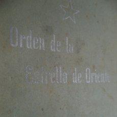 Libros antiguos: ORDEN DE LA ESTRELLA DE ORIENTE 44 PAGINAS TEOSOFIA,OCULTISMO.MISTICISMO. Lote 178878017