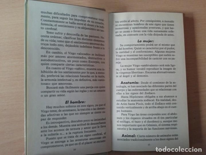 Libros antiguos: VIRGO - LAURENE PETIT (ASTROS SIGNOS) - Foto 4 - 179065720