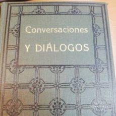 Libros antiguos: SWANI VIVEKANANDA. CONVERSACIONES Y DIÁLOGOS. Lote 181990571