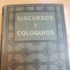 Libros antiguos: SWANI VIVEKANANDA. DISCURSOS Y COLOQUIOS. Lote 181990857