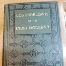 Libros antiguos: SWANI VIVEKANANDA. LOS PROBLEMAS DE LA INDIA MODERNA. Lote 181991007