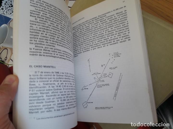 Libros antiguos: Ufologia. Proyecto libro azul, Brad Steiger. Edaf. 1977 RARISIMO - Foto 5 - 212371563