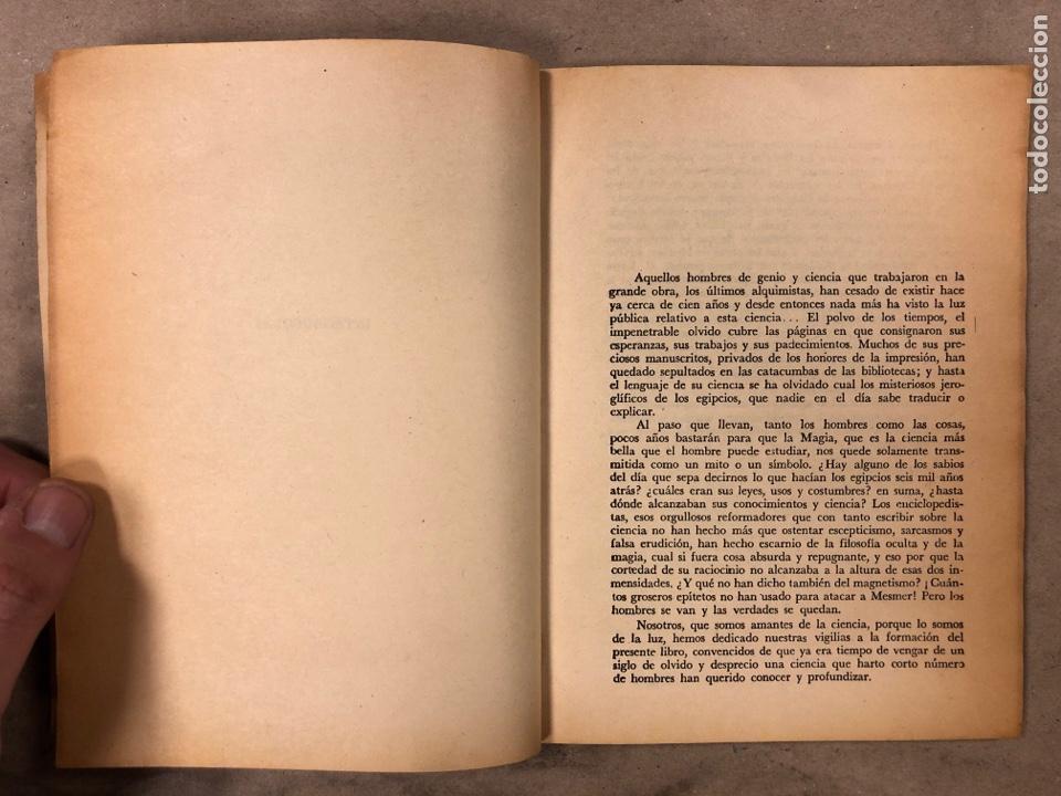 Libros antiguos: LA MAGIA ROJA O SEA EL VERDADERO ARTE PARA INICIARSE EN LOS SECRETOS DE LAS CIENCIAS OCULTAS. - Foto 3 - 183745202