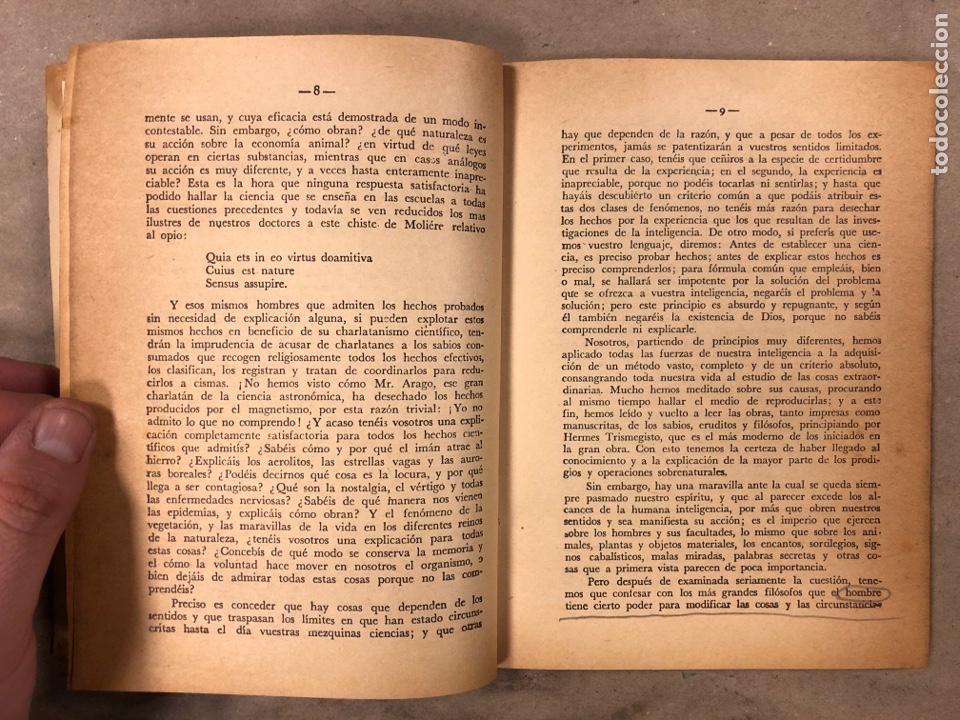 Libros antiguos: LA MAGIA ROJA O SEA EL VERDADERO ARTE PARA INICIARSE EN LOS SECRETOS DE LAS CIENCIAS OCULTAS. - Foto 4 - 183745202