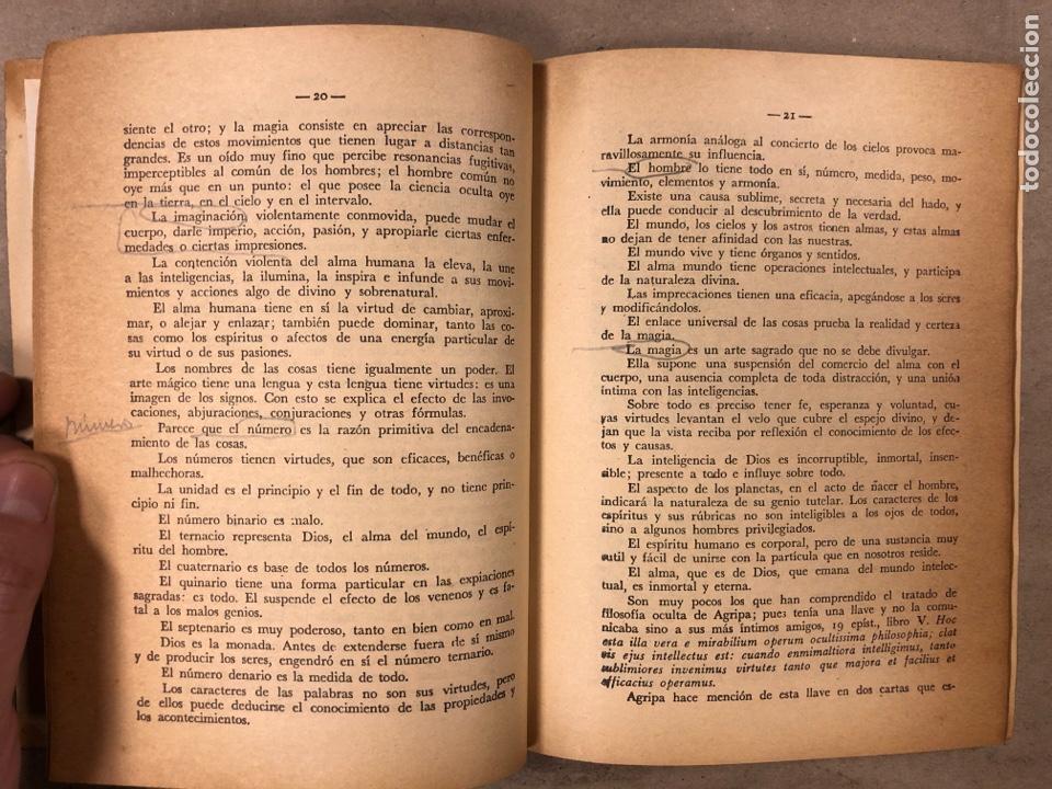 Libros antiguos: LA MAGIA ROJA O SEA EL VERDADERO ARTE PARA INICIARSE EN LOS SECRETOS DE LAS CIENCIAS OCULTAS. - Foto 5 - 183745202