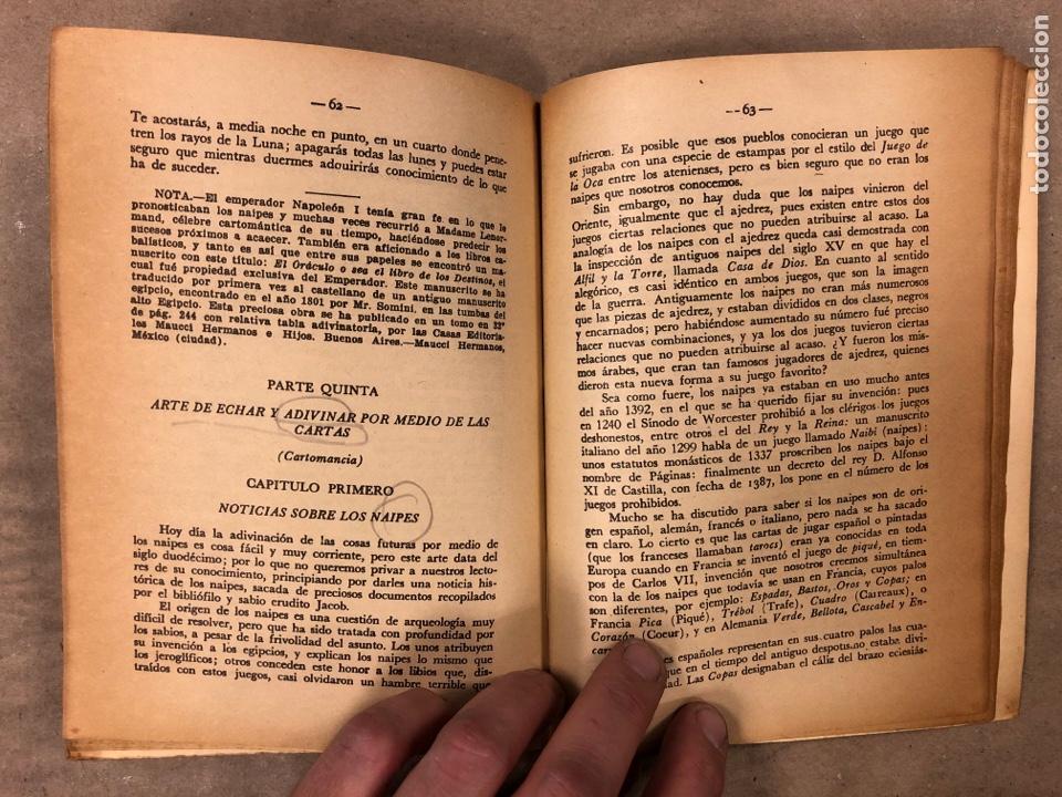 Libros antiguos: LA MAGIA ROJA O SEA EL VERDADERO ARTE PARA INICIARSE EN LOS SECRETOS DE LAS CIENCIAS OCULTAS. - Foto 7 - 183745202