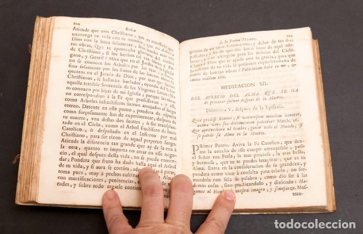 Libros antiguos: RELOX DE LA BUENA MUERTE - 1711 - PRIMERA EDICIÓN - CON TRES GRABADOS - Foto 11 - 188493308