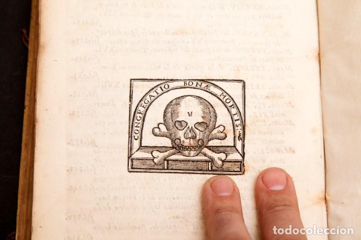 Libros antiguos: RELOX DE LA BUENA MUERTE - 1711 - PRIMERA EDICIÓN - CON TRES GRABADOS - Foto 13 - 188493308