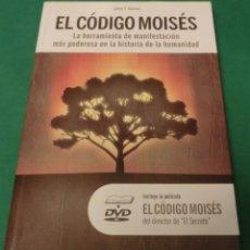 Libros antiguos: EL CÓDIGO MOISÉS+DVD. LA HERRAMIENTA DE MANIFESTACIÓN MÁS PODEROSA - JAMES F. TWYMAN (LIBRO NUEVO). Lote 189240231