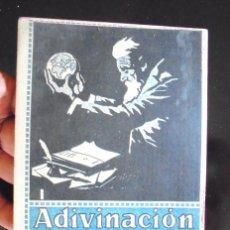 Libros antiguos: ADIVINACIÓN Y TRANSMISIÓN DEL PENSAMIENTO (TELEPATÍA MARSHALL WANAMAKER 1922. ESTUDIO PSICO-PRÁCTICO. Lote 190242536