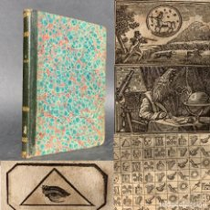 Libros antiguos: 1853 - ESOTERISMO - ADIVINACIÓN - ZODIACO - LIBRO DE LOS DESTINOS - MAGIA. Lote 190606383