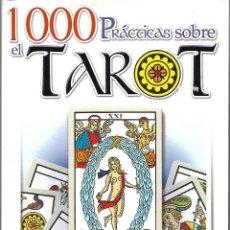 Libros antiguos: LIBRO - 1000 PRACTICAS SOBRE EL TAROT - ED. SERVILIBRO. Lote 191135971