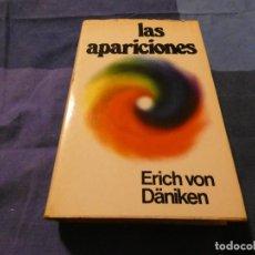 Libros antiguos: LIBRO LAS APARICIONES DE ERICH VON DANIKEN PESA 550 GRAMOS 1975. Lote 191729496