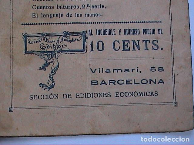 Libros antiguos: EL ORACULO DE LA BARAJA.1925. EDITOR LORENZO BAU BONAPLATA. BARCELONA. - Foto 5 - 192794312