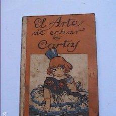 Libros antiguos: EL ARTE DE ECHAR LAS CARTAS. CHOCOLATES NELIA. 1920. BARCELONA. Lote 192794915