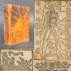 Libros antiguos: XVIII - HORÓSCOPO - ASTROLOGÍA - SANGRÍAS - LUNARIO - PRONÓSTICO PERPETUO - ZODIACO - MITOLOGÍA . Lote 193921027