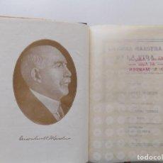 Libros antiguos: LIBRERIA GHOTICA.EDICIÓN MODERNISTA.ORISON SWETT MARDEN.OBRA MAESTRA DE LA VIDA.1910.PRIMERA EDICIÓN. Lote 194098038