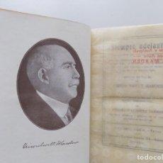 Libros antiguos: LIBRERIA GHOTICA. EDICIÓN MODERNISTA.ORISON SWETT MARDEN. ¡SIEMPRE ADELANTE!. 1910. PRIMERA EDICIÓN.. Lote 194098141