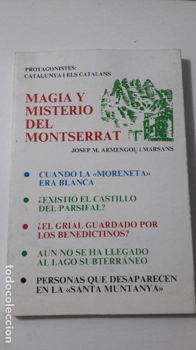 MAGIA Y MISTERIO DEL MONTSERRAT-UNICO EN TC (Libros Antiguos, Raros y Curiosos - Parapsicología y Esoterismo)