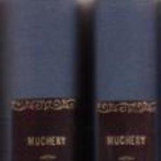 Libros antiguos: MUCHERY, GEORGES: LA MORT, LES MALADIES, L'INTELLIGENCE, L'HEREDITE. 2 VOLS. 1928 (QUIROMANCIA). Lote 194321861