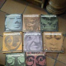 Libros antiguos: 8 NÚMEROS DE LA REVISTA HORIZONTE . Lote 194779072