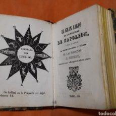 Libros antiguos: EL GRAN LIBRO DE LOS ORÁCULOS DE NAPOLEÓN.. Lote 195048910