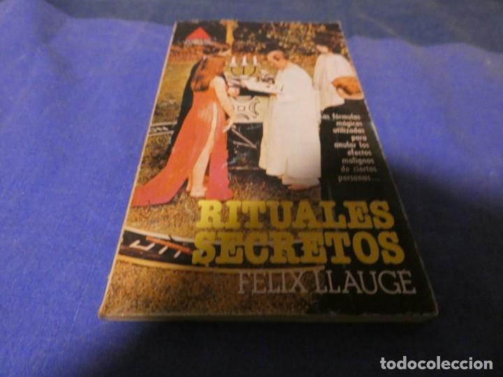 LIBRO MENOS 500 GRAMOS RITUALES SECRETOS DE FELIX LLAUGE (Libros Antiguos, Raros y Curiosos - Parapsicología y Esoterismo)