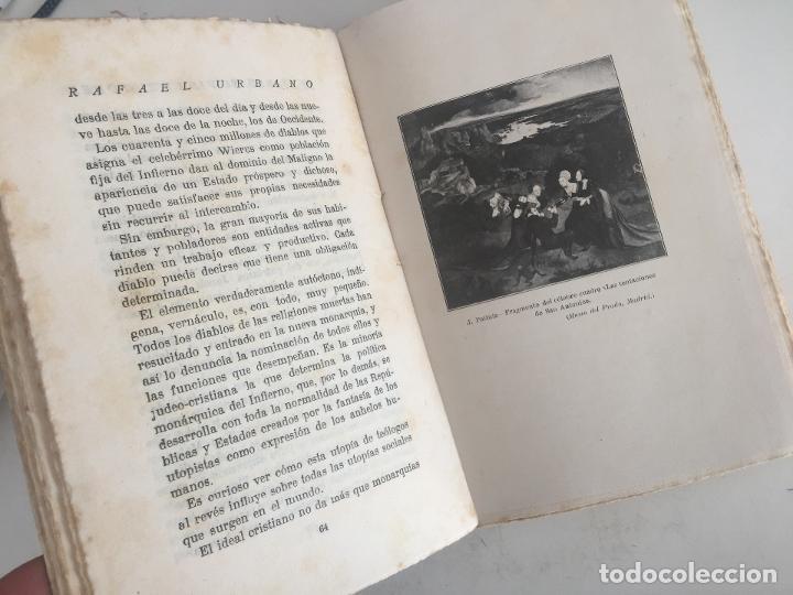 Libros antiguos: EL DIABLO SU VIDA Y SU PODER - RAFAEL URBANO - BIBLIOTECA DEL MAS ALLA - 1922 - GCH1 - Foto 4 - 195365566