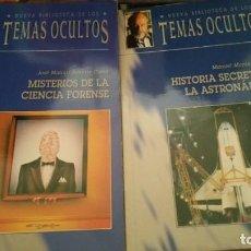 Libros antiguos: BIBLIOTECA DE LOS TEMAS OCULTOS. Lote 195389163