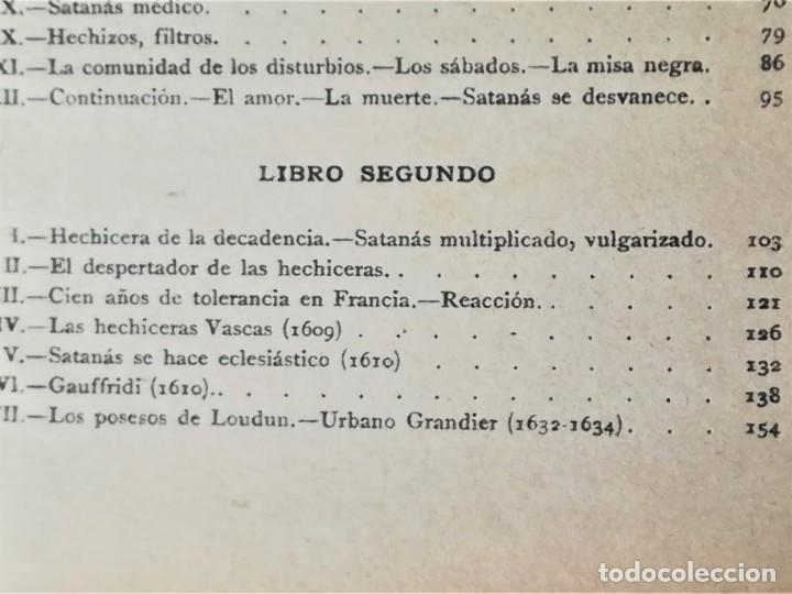 Libros antiguos: LIBRO,LA BRUJA,SIGLO XIX,AÑO1862,BRUJERIA,OCULTISMO,HECHICERA PAÍS VASCO.PARAPSICOLOGIA Y ESOTERISMO - Foto 4 - 196140733