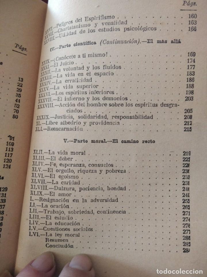 Libros antiguos: DESPUES DE LA MUERTE-EXPOSICION DE LA FILOSOFIA DE LOS ESPIRITUS-LEON DENIS-DE MAUCCI-1910-1920 - Foto 11 - 196880180