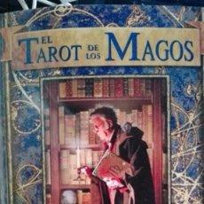 Libros antiguos: EL TAROT DE LOS MAGOS.CORRINE KENNER.IL.LUSTRACIONES DE JOHN BLUMEN.SIRIO. Lote 196954758