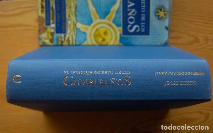 Libros antiguos: EL LENGUAJE SECRETO DE LOS CUMPLEAÑOS - Foto 2 - 197788660