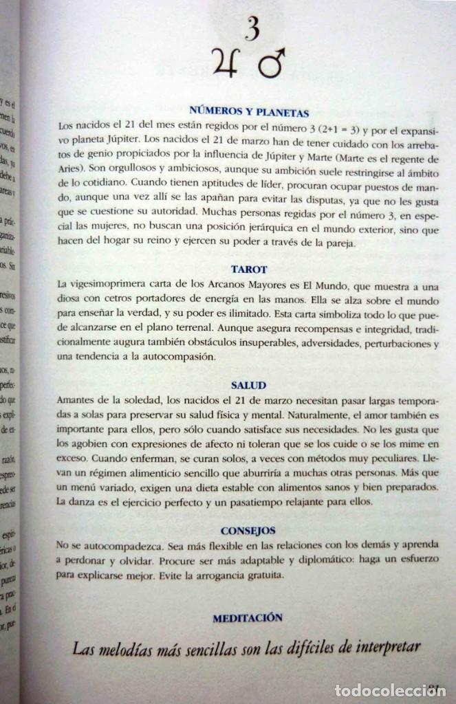 Libros antiguos: EL LENGUAJE SECRETO DE LOS CUMPLEAÑOS - Foto 7 - 197788660