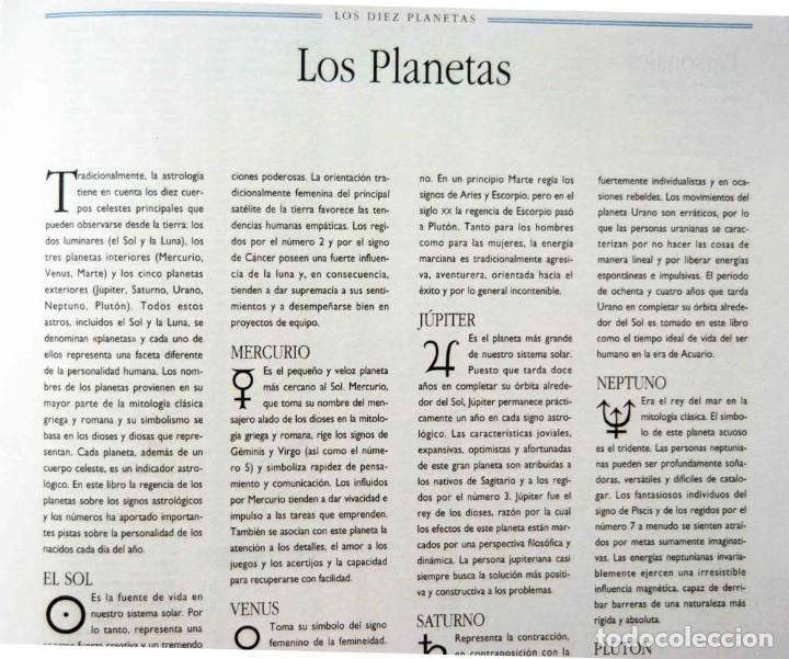 Libros antiguos: EL LENGUAJE SECRETO DE LOS CUMPLEAÑOS - Foto 13 - 197788660